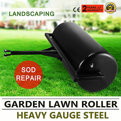 Versatile Garden Push/Tow Lawn Roller Sod Repair Durable Gauge Steel WISE CHOICE