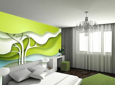 Abstract Tree Wall Mural Photo Wallpaper GIANT WALL DECOR Paper Poster