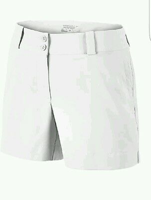 Nike Golf Tour Performance Dri Fit Shorts. Sz 16 White NWT Modern Rise $65