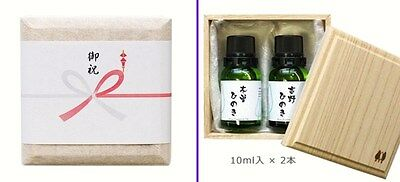 HINOKI Cypress Pure Essential Oil Gift Set KISO & YOSHINO Japan F/S Track#