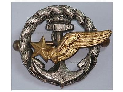 France WW2 Wings Observer badge Naval Air Force Hydroplane French WWII 1940 1945