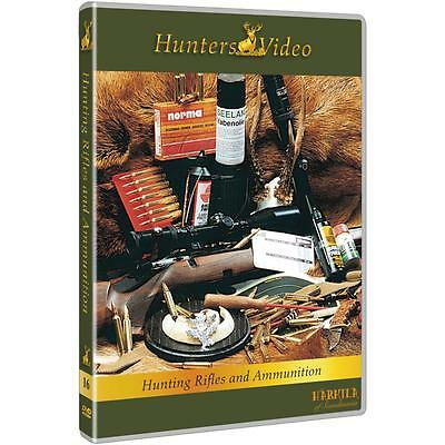 Hunters Video DVD Hunting rifles and ammunition