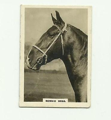 Rare Cavanders Cigarette Card - Bonnie Bess