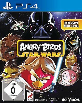 Sony PS4 Playstation 4 Spiel ***** Angry Birds Star Wars ***********************