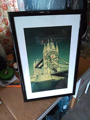 Per Bar/pub Quadro Heineken Tower Bridge Vintage