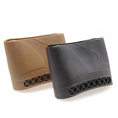 Rifle Shotgun Hunting Butt Stock Rubber Recoil Pad Shock Absorption Durable Top