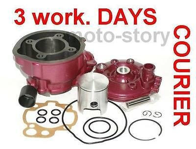 BIG BORE 90cc CYLINDER BARREL KIT + HEAD for KEEWAY X-RAY TX SM AJS JSM 50