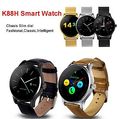 K88H Smart Watch Bluetooth 4.0 Call SMS Sleep Reminder For IOS Android Samsung