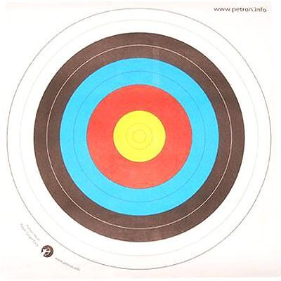 Petron 80cm Paper Target Face Pack of 10