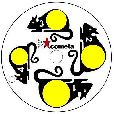 Cometa Paper Targets for Swivel Target Pack of 40
