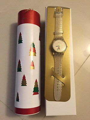 """Swatch """"holiday Twist"""" 2014 Christmas Special Suoz709S 14,999 Sets Worldwide!!!"""