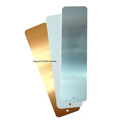 Blank Aluminium Metal Sheets Bookmarks 150x40mm Dye Sublimation Printing