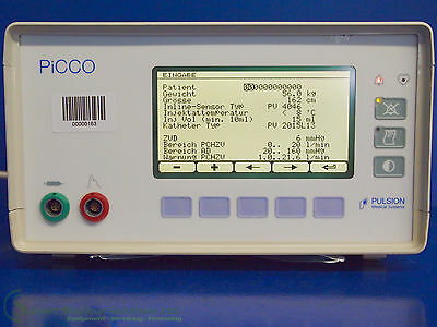 Pulsion Medical Systems PICCO###