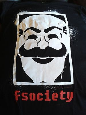 Loot Crate Exc Mr Robot T Shirt Womens / Ladies 2XL Lootcrate &