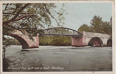 Bridge Of Dee With River In Flood, BANCHORY, Kincardineshire
