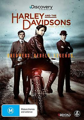HARLEY AND THE DAVIDSONS Complete Mini Series Collection 4 Disc Boxset NEW DVD