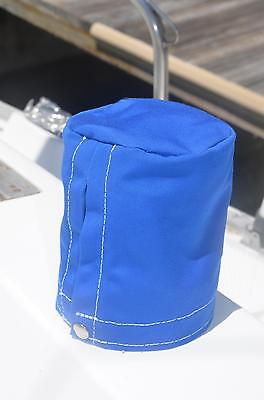 """set of 2@ 5"""" Wide x 6"""" Tall Sunbrella Canvas SailBoat Winch Covers any color"""