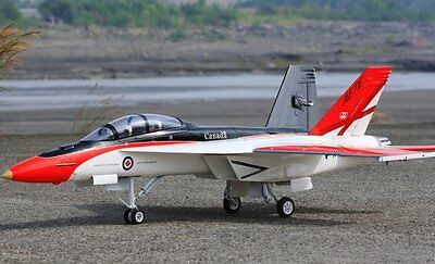 F-18 Hornet  55 inch Wing   Giant Scale RC AIrplane Printed Plans