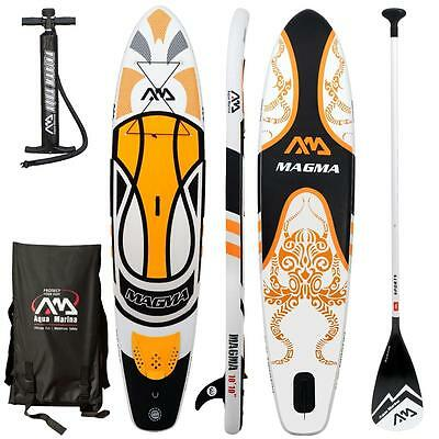 AQUA MARINA MAGMA Stand Up Paddle Board SUP Paddelboard inflatable Sport Paddle