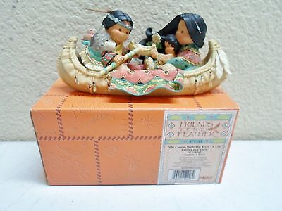 FRIENDS OF THE FEATHER On Course With The River Of Life 1998 Enesco 475335