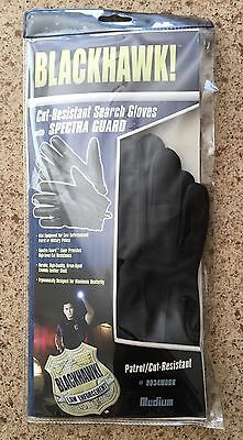 Blackhawk Cut Resistant Search Gloves   Medium Black