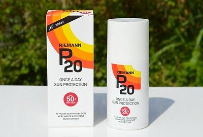 RIEMANN P20 Sun filter Spray (Once a Day) Spf 50+ 200ml (Water Resistant)