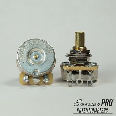 Emerson Pro CTS Potentiometer,  Solid Shaft (Choice of 500K/250K Ohms)