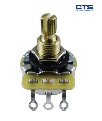 CTS Audio Potentiometer, Split Shaft, (Various values and tapers)