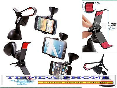 Soporte Pinza Coche Iphone 6 Plus 6 5S 5C 5 4S 4 Ipod Touch Psp Gps Tomtom