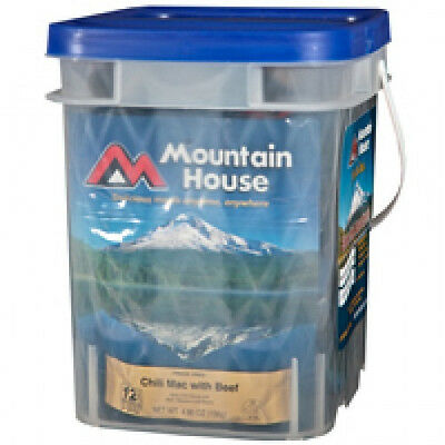 2 - Mountain House Essential Assortment Buckets - 64 Servings Freeze Dried Food