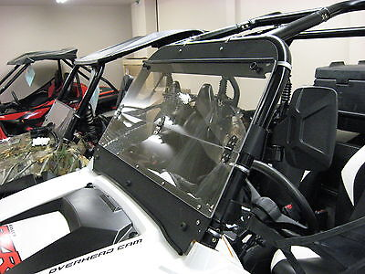 2815-PR40 Polaris Ranger midsize folding windshield