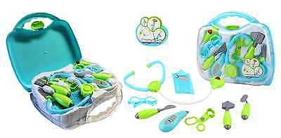 Medical Case Doctor Toy Set Deluxe 8Pcs Children Pretend Play Nurse Carrycase
