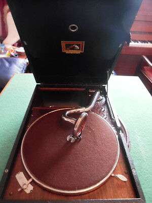 His Masters Voice Travelling Gramophone
