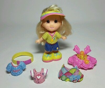 10 PCS FISHER-PRICE SNAP N' STYLE DOLL w/ OUTFITS &  ACCESSORIES - BLONDE HAIR