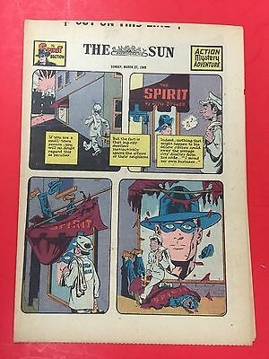 The SPIRIT Weekly Comic - March  27 , 1949 - GOLDEN AGE - WILL EISNER