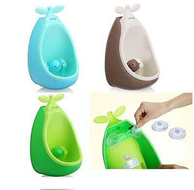 Kids Baby Children Potty Urinal Toilet Training Boy Bathroom Frog Pee Trainer