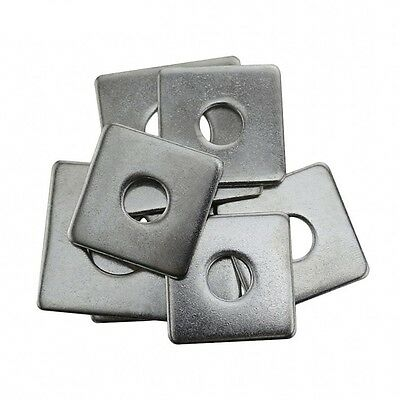 A2 Stainless Steel Square Washers Strut Washers 304 M3 M4 M5 M6 M8 M10 M12 M16