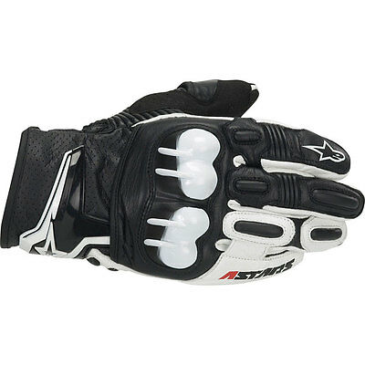 Alpinestars GPX Leather Glove Motorcycle Race Gloves