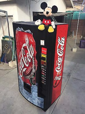 COLD DRINK -COKE- SODA CAN-VENDING MACHINE-ROYAL vendors-COKE-PEPSI-
