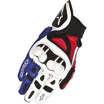 Alpinestars GPX Vented Leather Gloves Motorcycle Race Gloves