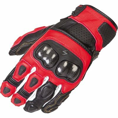 Scorpion EXO SGS MK II Leather Gloves Motorcycle Race Gloves