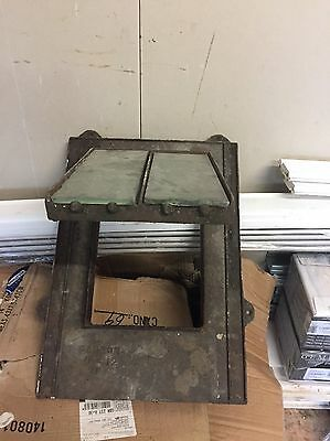 Victorian cast iron roof Window With Original Glass