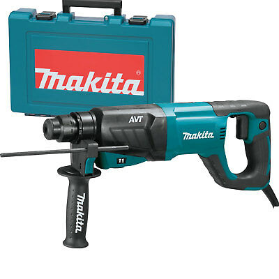 "1"" SDS-PLUS 3-Mode Variable Speed AVT Rotary Hammer Makita HR2641 New"
