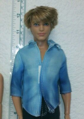 Mattel -  Barbie's Friend Ken - Fashionista Doll - Rooted Hair Fully Jointed