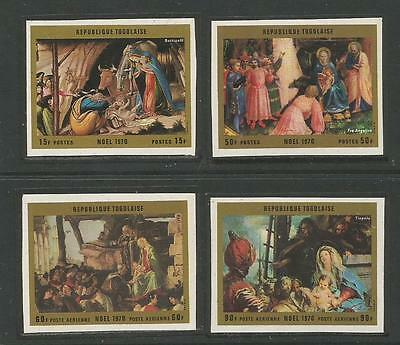 TOGO 1970  Christmas Weihnachten Navidad** Paintings by Botticelli.  MNH