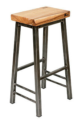 Saddle Industrial Bar Stool 'Steve'
