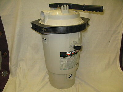 Hayward EC 40 Filter with fittings. Later type clamp head.