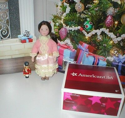"RARE American Girl SAMANTHA'S Porcelain Nutcracker Clara DOLL Set for 18"" Doll"