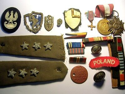 WW2 Poland Polish Army 2nd Corps Small Collection