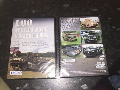 Atlas Editions - 100 Military Vehicles  Dvd